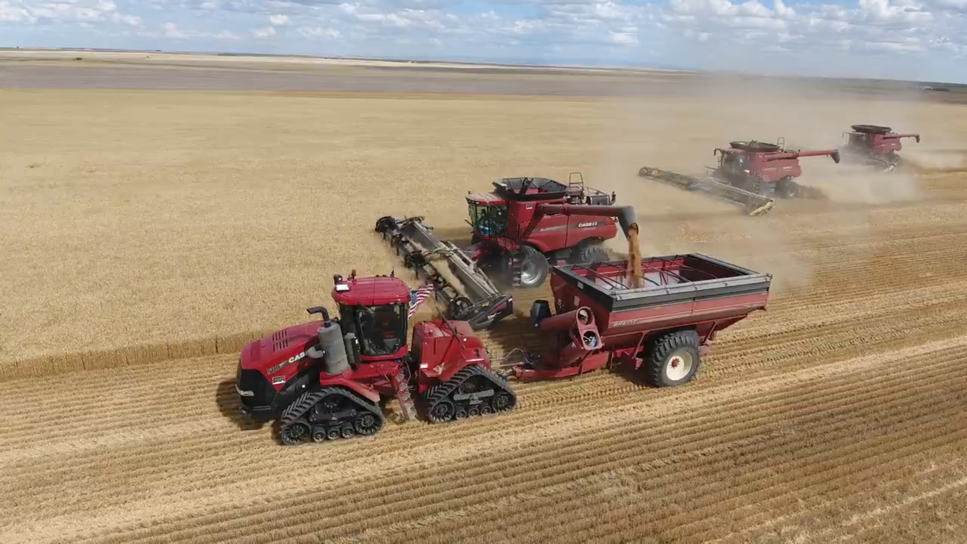 U.S. Tractor, Combine Sales Spike During September