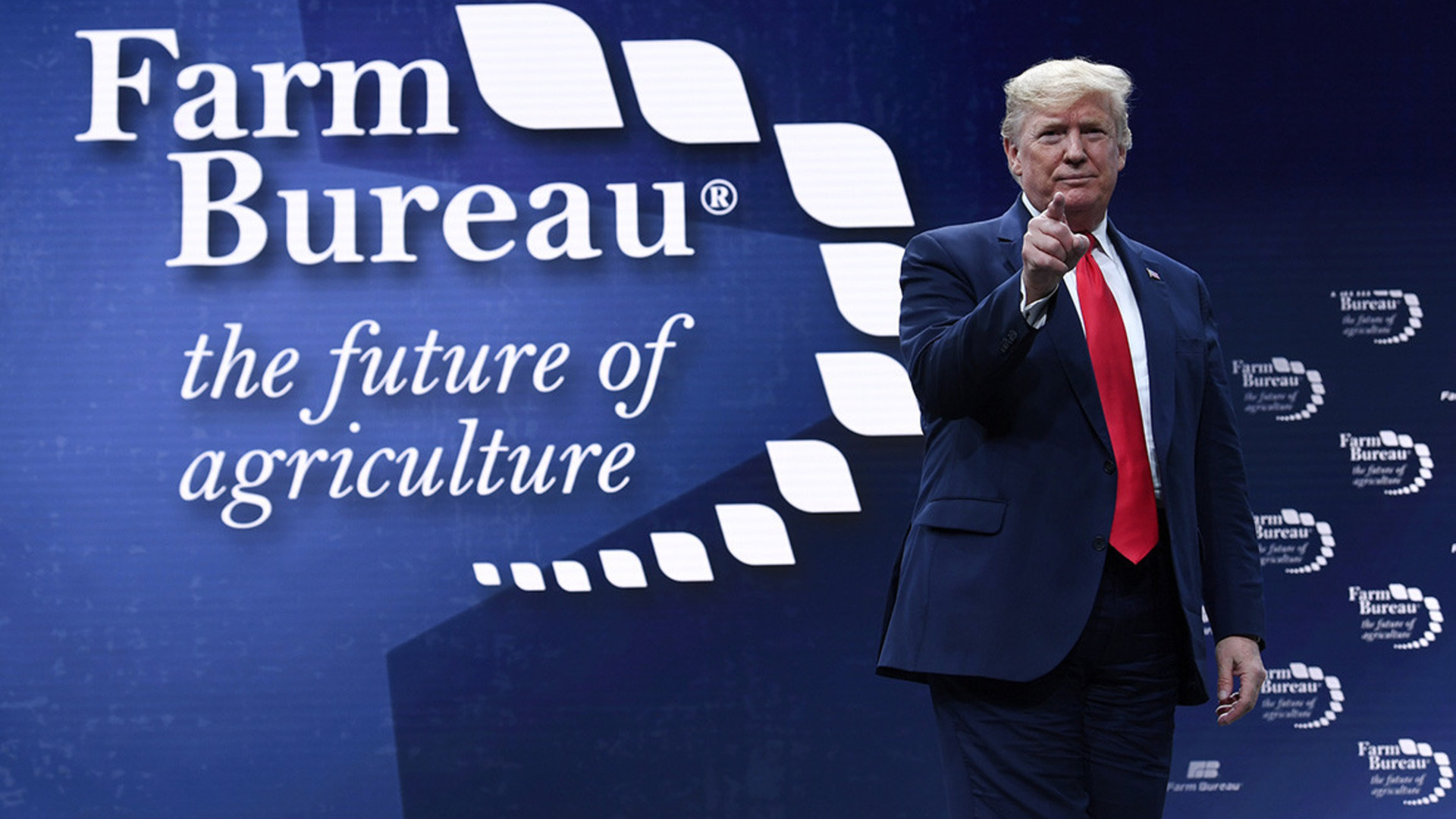President Trump Speaks at Farm Bureau Convention
