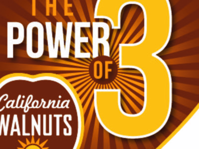 The Power of Three in Walnuts!