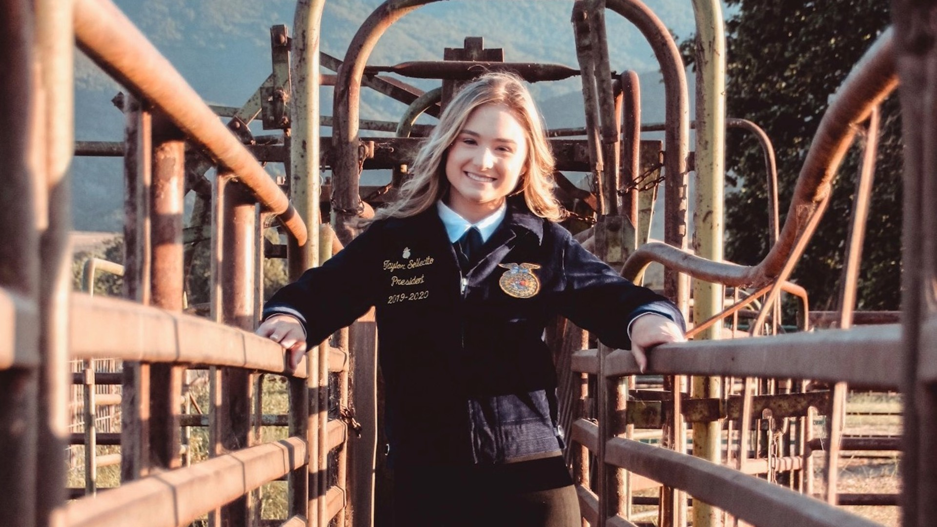 FFA Reporter Hopes to Bridge the Gap from Farm to Table
