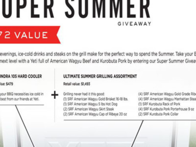 Agri Beef's Super Summer Giveaway
