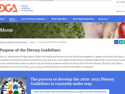Government Dietary Guidelines Reaffirm Beef's Important Role in a Healthy Diet