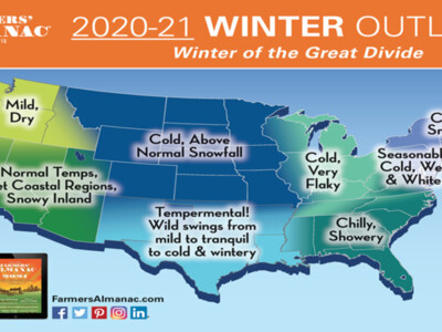 Winter of the Great Divide? 2021 Winter Forecast
