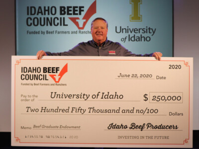 Idaho Beef Council Invests in Industry's Future with $250,000 Research Endowment