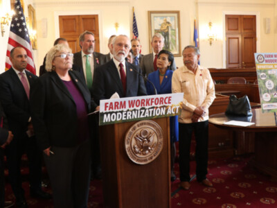 Farm Workforce Modernization Act Reintroduced Pt 1