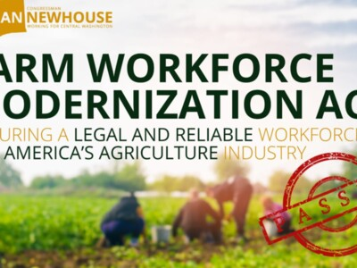 Farm Workforce Modernization Act Passed Pt 1