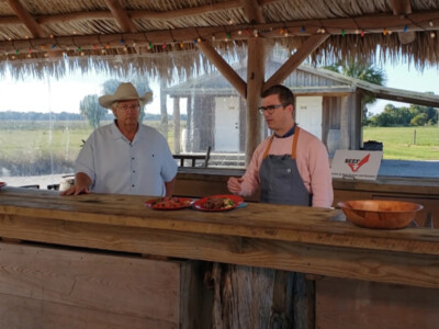 Florida Rancher and Celebrity Chef Talk Sustainability in Nationwide Media Event
