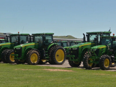 Farm Equipment Sales Surge to Record Highs